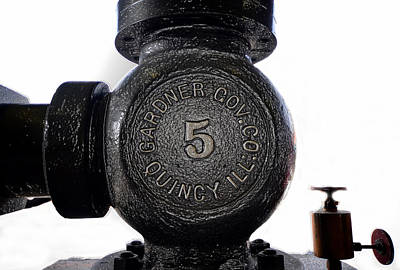 Photograph - Old Number Five by David Lee Thompson
