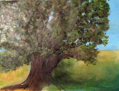 Painting - Old Oak by Andrea Friedell
