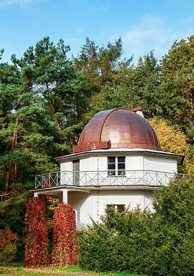 Old Observatory Building Art Print by Babak Tafreshi