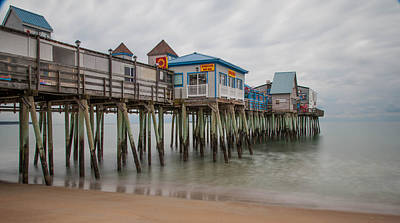 Old Orchard Beach Art Print by Guy Whiteley