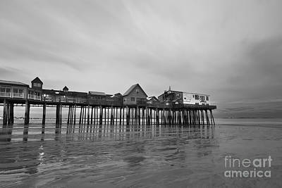 Coastal Maine Photograph - Old Orchard Beach Pier by Katherine Gendreau