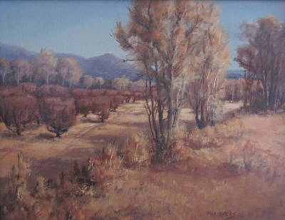 Painting - Old Orchard by Mar Evers