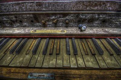 Digital Art - Old Organ by Nathan Wright
