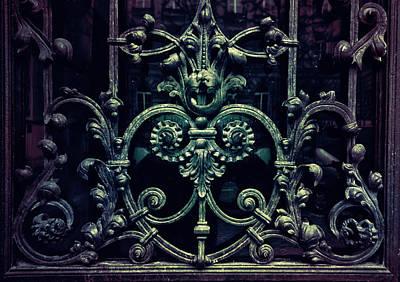 Old Ornamented Gate Art Print