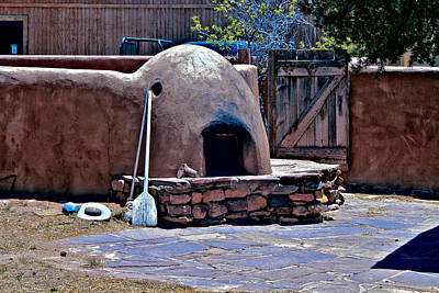 Photograph - Old Oven Pecos Pueblo by Bill Barber