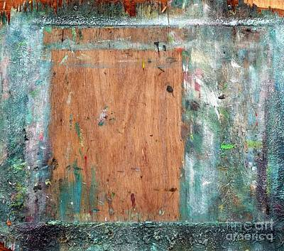 Photograph - Old Painter Easel by Yali Shi