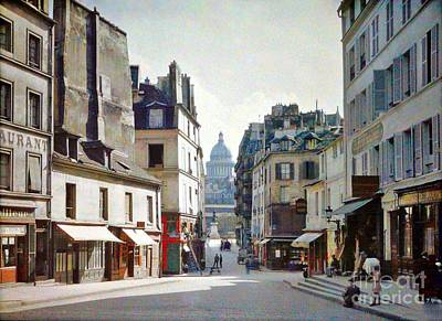 Art Print featuring the photograph Old Paris by Bill OConnor