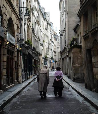Photograph - Old Paris by Eliza Donovan