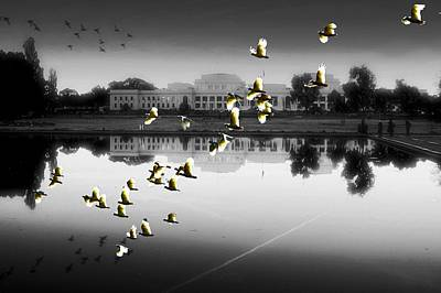 Photograph - Old Parliament House Canberra by David Rich