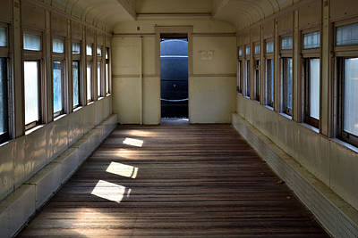 Photograph - Old Passenger Car 1 by Nadalyn Larsen