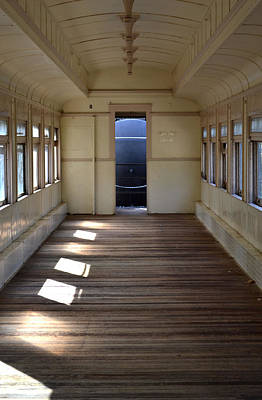 Photograph - Old Passenger Car 2 by Nadalyn Larsen