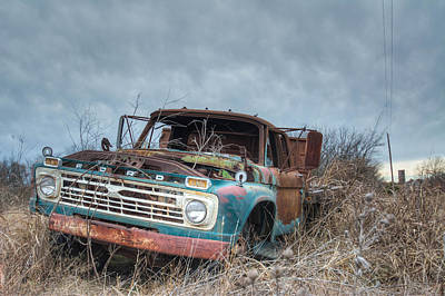 Photograph - Old Pick Up by Nathan Hillis