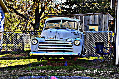 Photograph - Old Pick Up by Sharon Farris