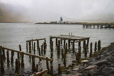 Photograph - Old Pier In Siglufjordur by For Ninety One Days