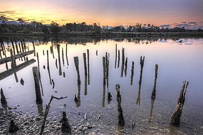 Old Pilings On The Bon Secour Original