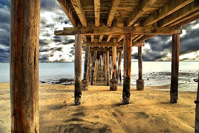 Photograph - Old Pillar Point Pier by Scott Hill