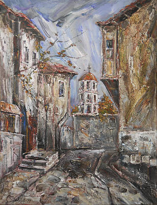 Old Plovdiv - Late Autumn II Art Print