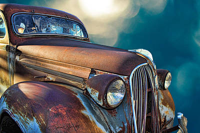 Old Car Photograph - Old Plymouth I by Sylvia Thornton