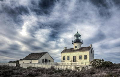 Old Point Loma Lighthouse Art Print