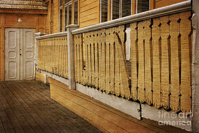 Photograph - Old Porch by Inge Riis McDonald