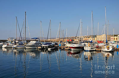 Photograph - Old Port Of Chania City by George Atsametakis