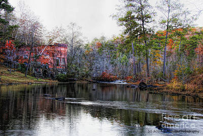 Photograph - Old Power House by Barbara Bowen