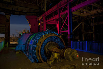 Old Power Plant Art Print by Keith Kapple