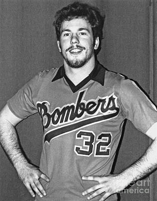 Photograph - Old Publicity Photo Of Jim Fitzpatrick Of The San Francisco Bay Bombers by Jim Fitzpatrick