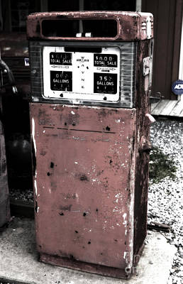 Photograph - Old Pump by John Rizzuto