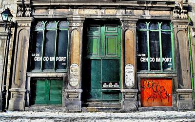 Photograph - Old Quarter 1 - Montreal by Jeremy Hall
