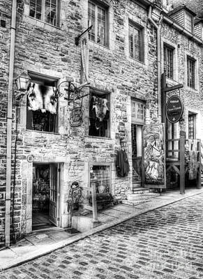Photograph - Old Quebec City 12 by Mel Steinhauer