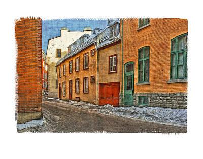 Old Quebec City Art Print