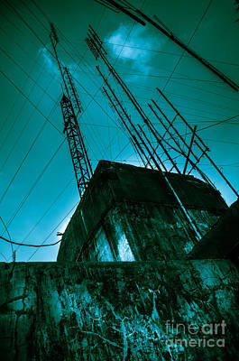 Photograph - Old Radio Installation by Michael Arend