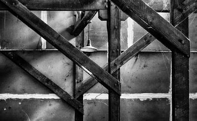 Photograph - Old Rafters by Robert Woodward
