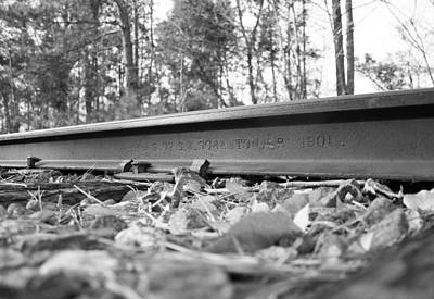 Photograph - Old Rail by Joseph C Hinson Photography