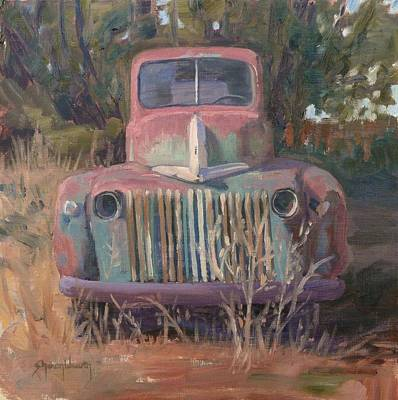 Painting - Old Red 3 by Sharon Weaver