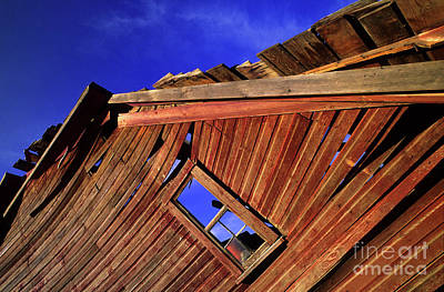 Photograph - Old Red Barn by Bob Christopher