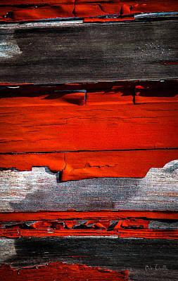 Photograph - Old Red Barn Three by Bob Orsillo