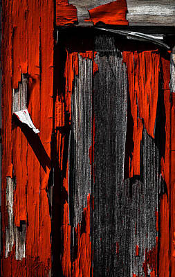 Photograph - Old Red Barn Two 2 by Bob Orsillo
