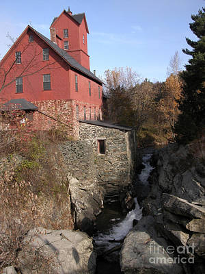 Photograph - Old Red Mill by Liz Leyden