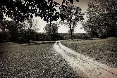 Photograph - Old Road by Scott Hovind