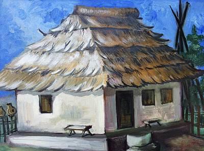 Old Romanian House Original
