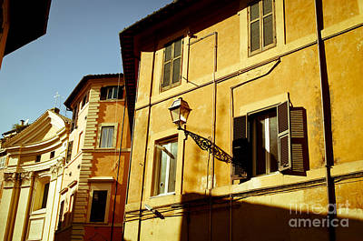 Photograph - Old Rome by Lana Enderle