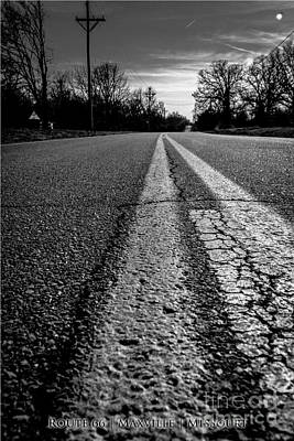 Missouri Photograph - Old Route 66 Highway by JC Kirk