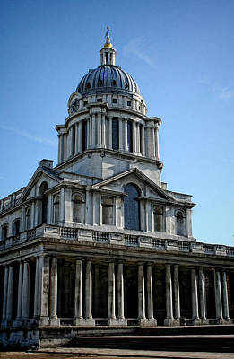 Photograph - Old Royal Naval College by Heather Applegate