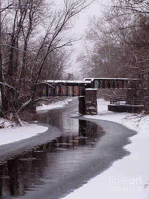 Photograph - The Nifti Railroad Bridge by Christopher Plummer