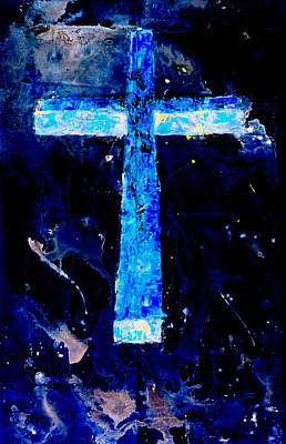 Old Rugged Cross II Art Print