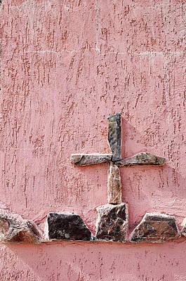Old Rugged Cross Nogales Sonora Mexico 2010 Original by John Hanou