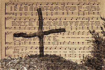 Photograph - Old Rugged Cross by Robyn Stacey