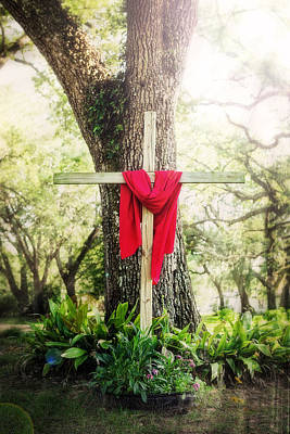 Photograph - Old Rugged Cross by Sennie Pierson